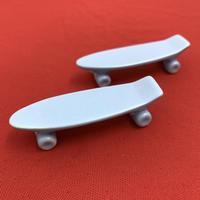 【 TALKY 】skateboard chopstick rest ( mat blue )