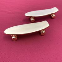 【 TALKY 】pika pika skateboard chopstick rest ( gold )