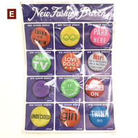 【 New old stock 】E_ 1960's badge