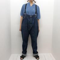 【 TAG DOSE NOT MAKE YOU 】4_SUSPENDER pants (vintage denim)