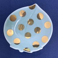 【 amabro 】MAME 水玉桃形皿