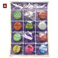 【 New old stock 】A_ 1960's badge