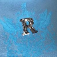 Rスパンコールシリーズ トートバッグ  ベビーブルー