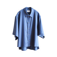 【入荷】CUPRA COTTON H/S SHORT SHIRT(BLUE)