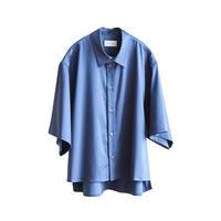 【在庫販売】CUPRA COTTON H/S SHORT SHIRT(BLUE)