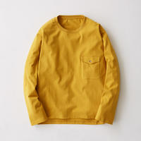 Flap Pocket Long Sleeve Tee(Mustard)