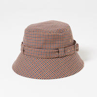 Belted Bcket Hat(Gun club check)