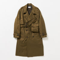 3way holster chest bag trench coat  (Khaki)