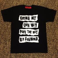GO FORWARD  (BLACK)