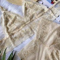 Ivory beige set