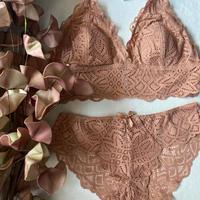 4 colors bralette set pink  【 A-0305-PI】