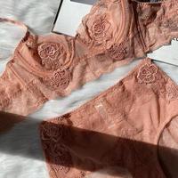 wire flower pink  【A-0010-PI】