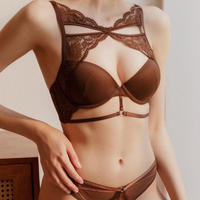 front lace set brown【A-0134】