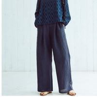 Linen Pants(navy)