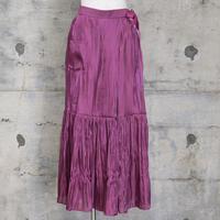 サテンスカート風パンツ(pink)