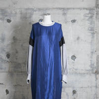 lace-up one-piece(blue)