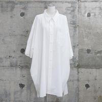 ユニセックスビッグシャツ(BIG shirts・white)