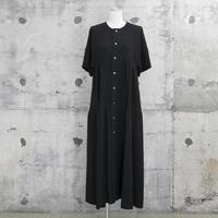 大人のティアードワンピース(tiered one-piece・black)