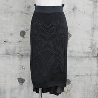 ニットタイトスカート(Knit Tight Skirt・black)