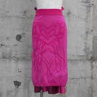 ニットタイトスカート(Knit Tight Skirt・pink)
