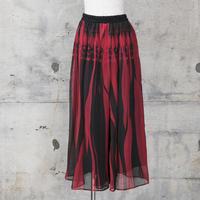 シフォンパンツ(red knit)