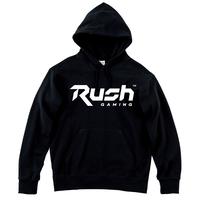 Rush Gaming チームロゴパーカー (Black)