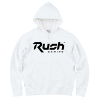 Rush Gaming チームロゴパーカー(White)