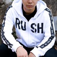 Rush Gaming オリジナルジップアップパーカー 2019 White