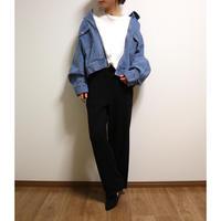 サーマルワイドパンツ【BLACK】