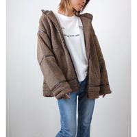 ボアパイピングフードジャケット【MOCA】