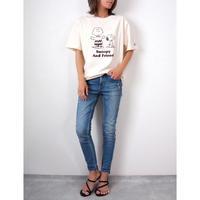 SNOOPYプリントTシャツ【WHITE】