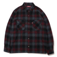 Wool Ombre Check Shirt