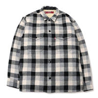 Boa Check Shirt Jacket