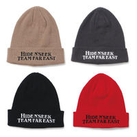 Team Far East Rib Knit Cap
