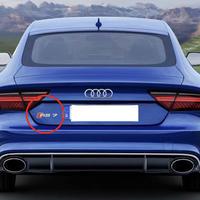 Audi 純正品 RS7 ( C7 C8 ) ロゴ リア エンブレム
