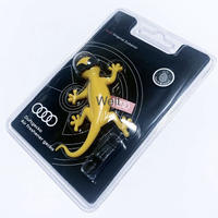 New  Audi 純正 ゲッコー エアフレッシュナー イエロー サングラスVer.