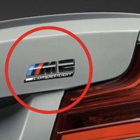 BMW 純正品 F87 M2 Competition リア ブラック エンブレム