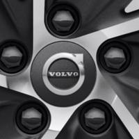 VOLVO 純正 ダークグレー ホイールセンターキャップセット V90 V60 XC90 XC60