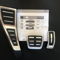 Audi 純正  ペダルカバー フットレストセット A4(8W) A5(F5) Q5(FY)