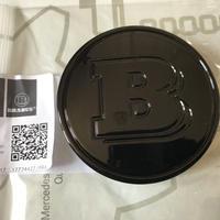 smart BRABUS 純正品 450 451 ブラック ホイールセンターキャップ( ハブキャップ )
