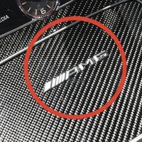 Mercedes-Benz 純正品 AMG インテリア エンブレム W205 W213 X253