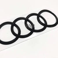 Audi 純正 RS5 スポーツバック (F5 B9) リア グロスブラック 4リングス エンブレム