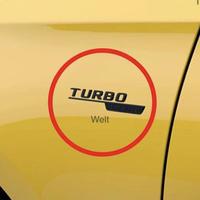 Mercedes-Benz 純正品 TURBO 4MATIC ブラック サイド エンブレムセット W177 AMG A35 C118 CLA35 H247 GLA35 X247 GLB35