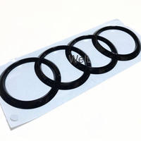 Audi 純正 TTRS ( 8S ) リア グロスブラック4リングス エンブレム