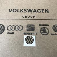 VW 純正 キーエンブレム 10mm