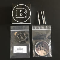 BRABUS 純正品 W222 トランクリッド エンブレム 230-000-21-2
