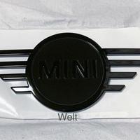 BMW MINI 純正品 F54 LCI ミニ クラブマン ピアノブラック リア エンブレム