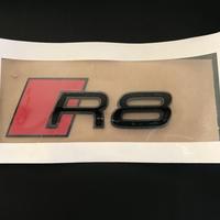 Audi 純正 R8(4S) グロスブラックエンブレム