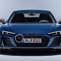 Audi 純正品 R8 4S グロスブラック フロントグリル エンブレム