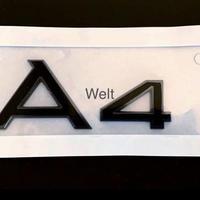 Audi 純正品 A4 ロゴ グロスブラック リア エンブレム 8W B9 8K B8